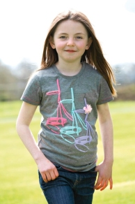 Girl's Bridle Tee