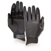Black Riding Gloves