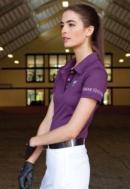 Asmar Ladies Short Sleeved Polo Shirt