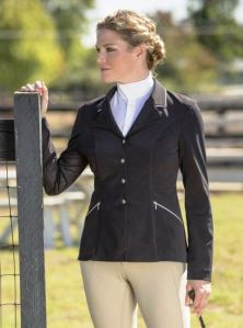 The FITS Zephyr Show Coat: A Crossover style coat designed with a unique opaque mesh material.