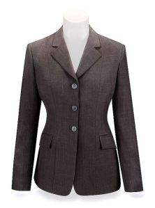 Brown Plaid Hunt Coat