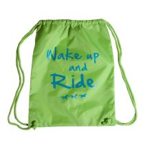 Stirrups Wake Up and Ride Cinch Backpack