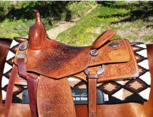 Western Saddle and Pad