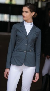 Lady in Show Coat